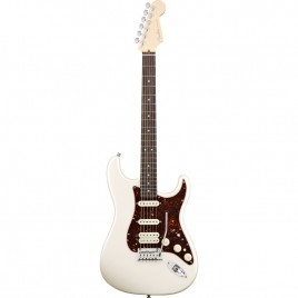 Fender American Deluxe Stratocaster®, Maple Fingerboard, Olympic Pearl