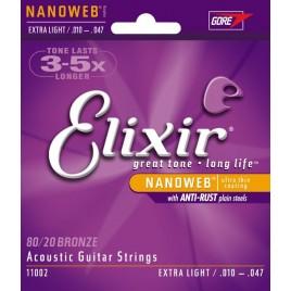 Elixir Acoustic Guitar NanoWeb 11002