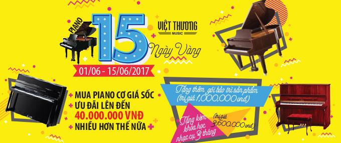 Piano 15 ngày vàng