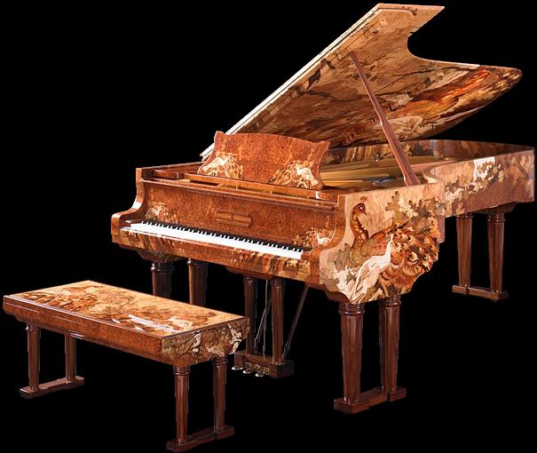 những cây đàn piano đẹp và đắt nhất thế giới